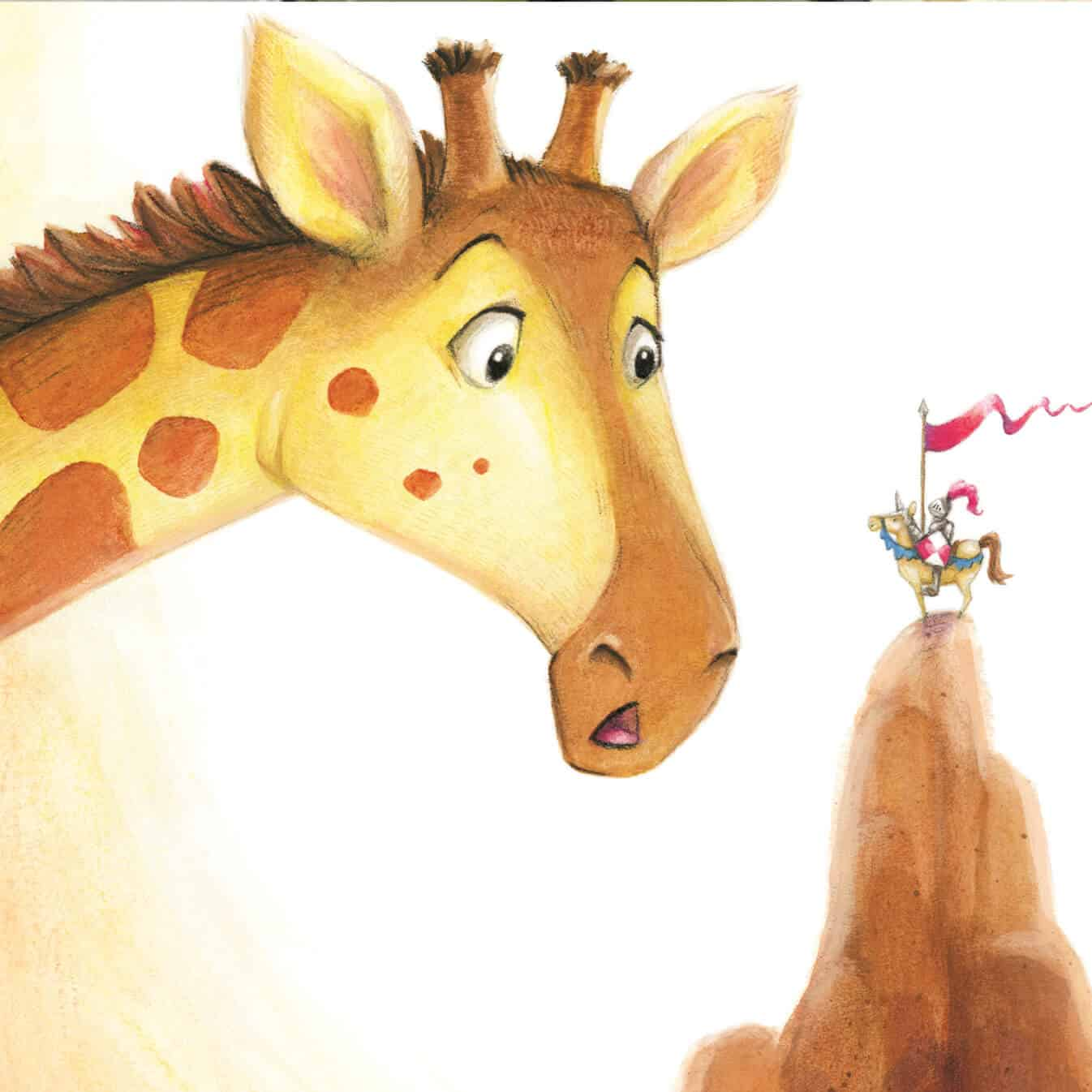wilson the giraffe from Guion the Lion